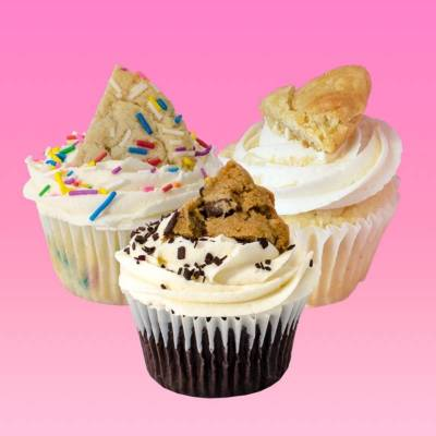 Yummy Add-On: Confetti Sweets Cupcakes (1/2 doz)