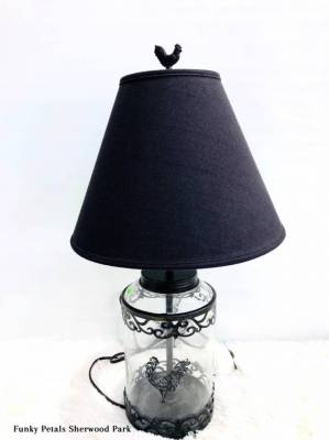 Rooster Rustic Lamp
