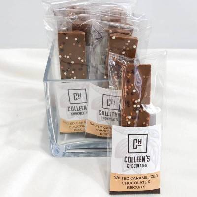 Yummy Add On:  Colleen's Chocolates - Salted Caramelized Chocolate & Biscuits