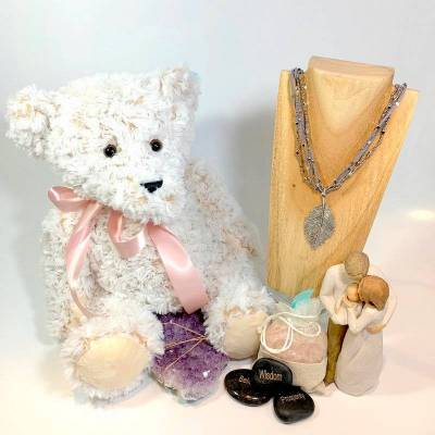 Gifts & Jewelry Including Chocolate Boxes and Stones