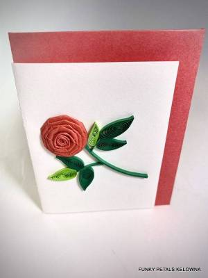 Quilting Rose Gift Enclosure