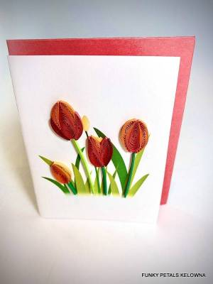 Red Tulip Gift enclosure