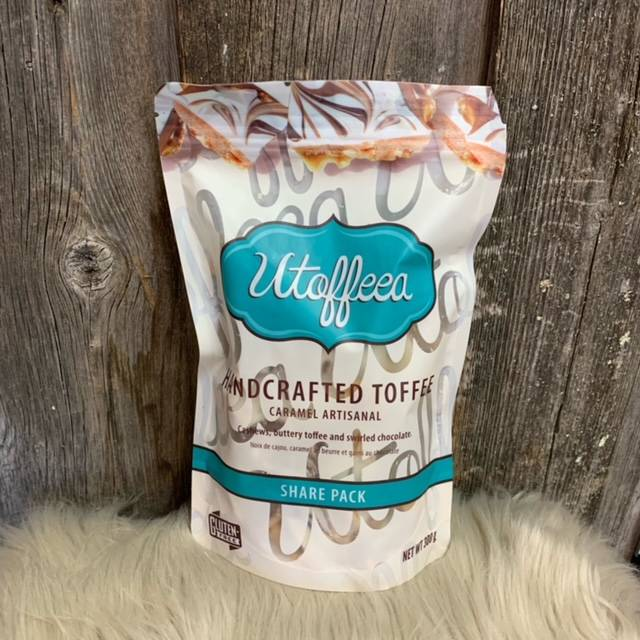 Utoffeea (Share Pack) Handcrafted Toffee-300g