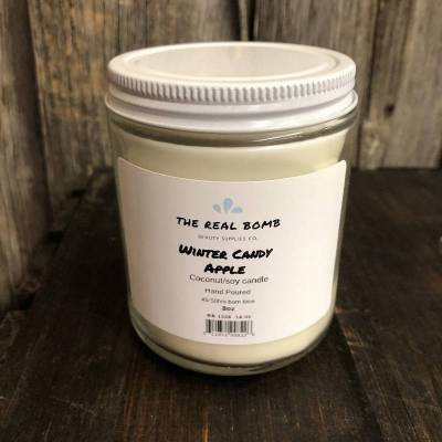 The Real Bomb Winter Candy Apple Candle 430g