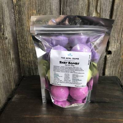 The Real Bomb Baby Bomb Bag (225g)