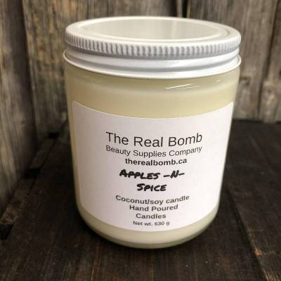 The Real Bomb- Apple & Spice Candle