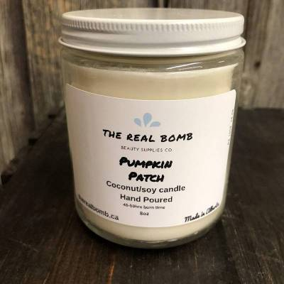 The Real Bomb Pumpkin Patch Candle (430g)