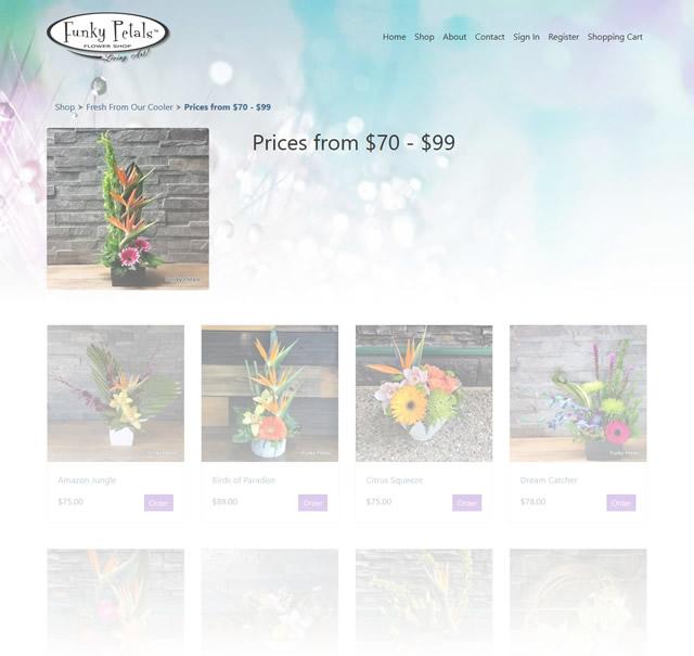 Ecommerce Flower Shop